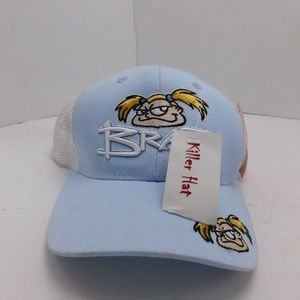 Kristens Collection Brat Hat Cap Snapback Blue